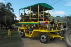 Toeren met traktor